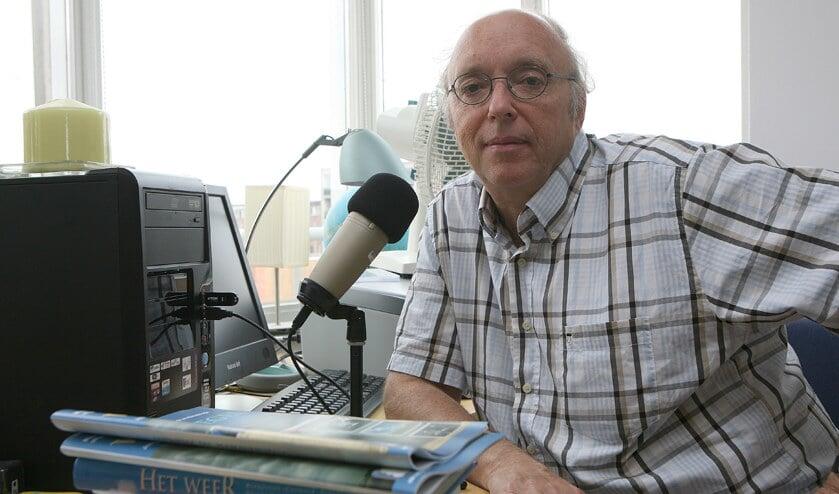 Pieter verzorgde het weerbericht op tv, radio en in onze kranten.