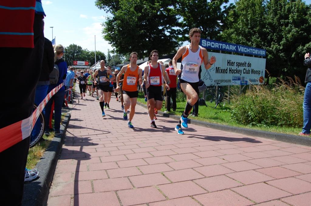 Start van de 10, 15 en 21 kilometer  © Enter Media