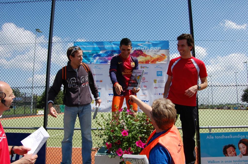 Alle winnaars krijgen bloemen uit Weesp  © Enter Media