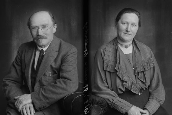 Wel al bekend: Sybrand ten Brug en Jetske Vader (1924)