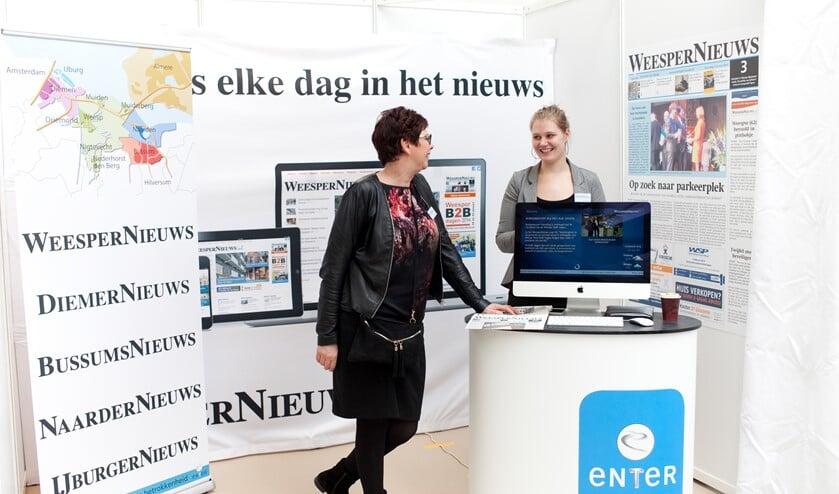 Enter Media is ook de uitgever van het Nieuwsblad voor Huizen.