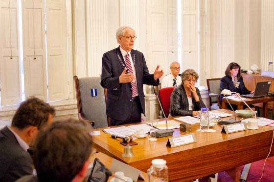 Burgemeester Bas Jan van Bochove: 'Alsof zoiets aan personen hangt'