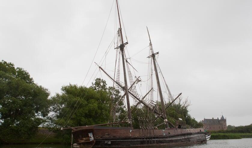 Het schip in 2015.
