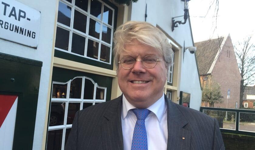 CDA-raadslid Erwin van den Berg.
