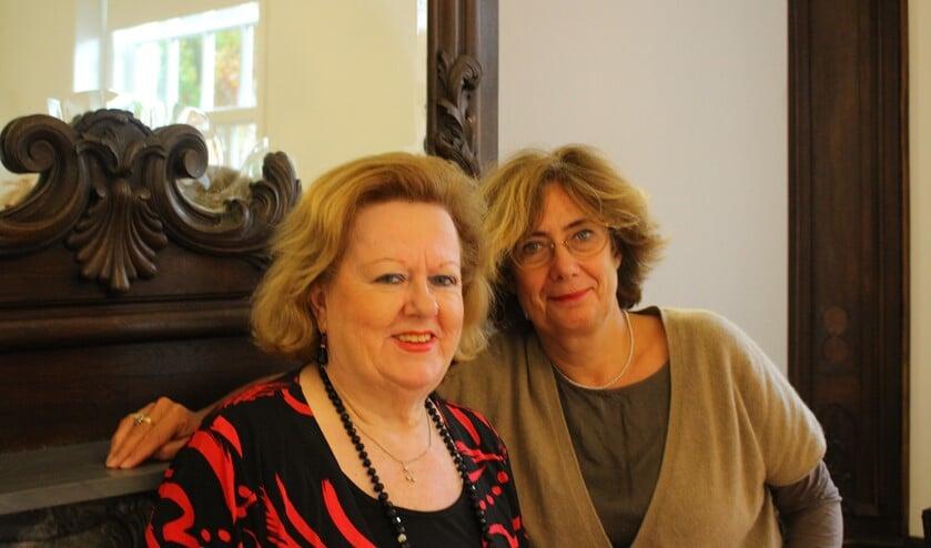 Sigrid van der Linden en Christien Kuysters