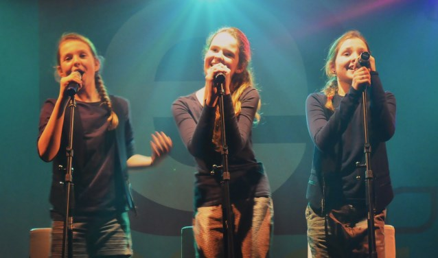 Anna, Emma en Mia wonnen de afgelopen editie van de E-Factor.