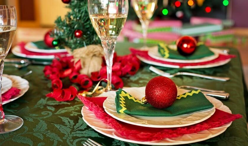Iedereen is welkom bij het kerstdiner in 't Visnet.