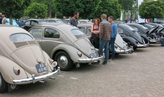 Heel veel Volkswagens zullen Plein 1945 sieren zondag.