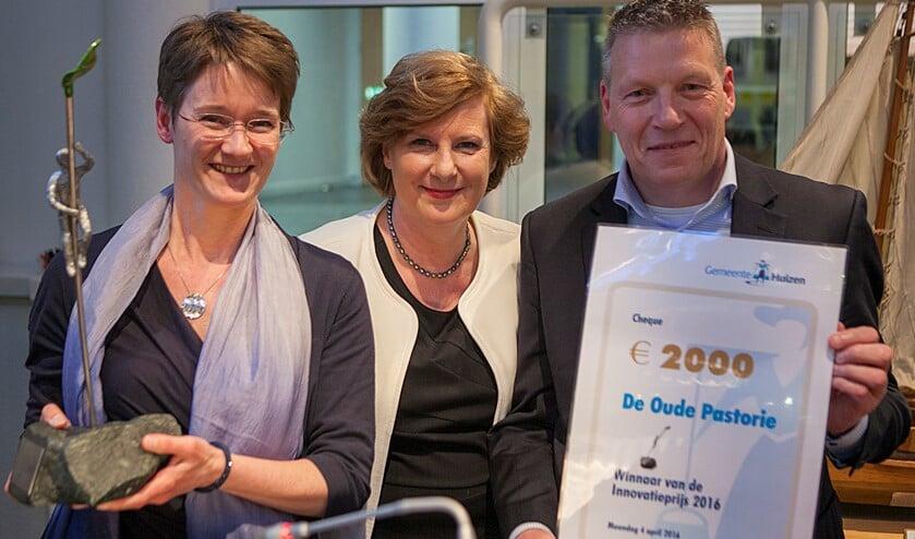In 2016 won De Oude Pastorie de prijs.