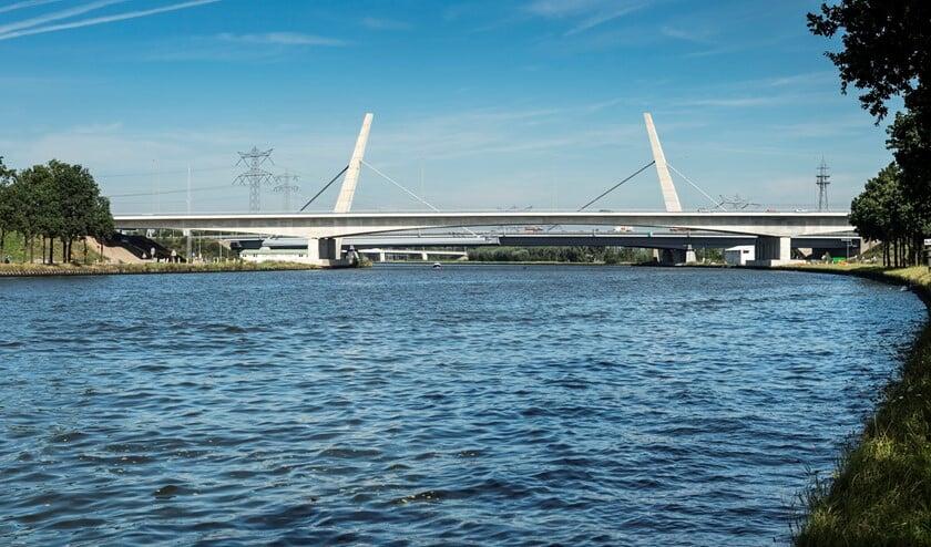 De Betlembrug over het Amsterdam-Rijnkanaal