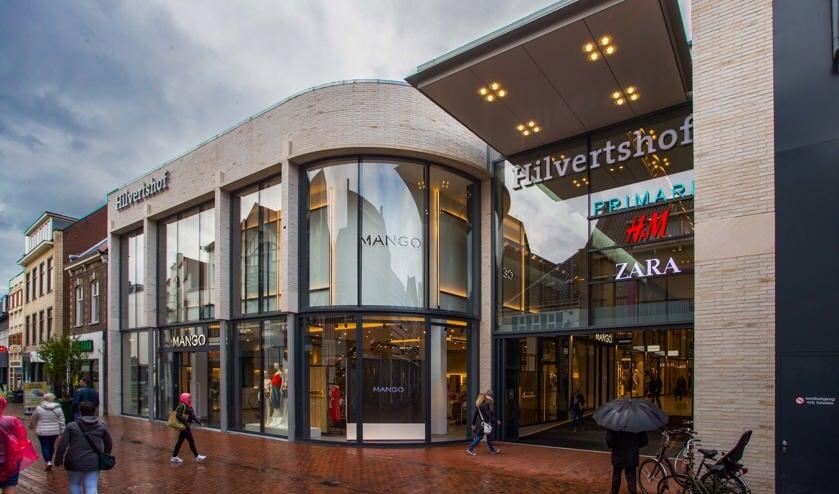 De metamorfose van het winkelcentrum is afgerond.