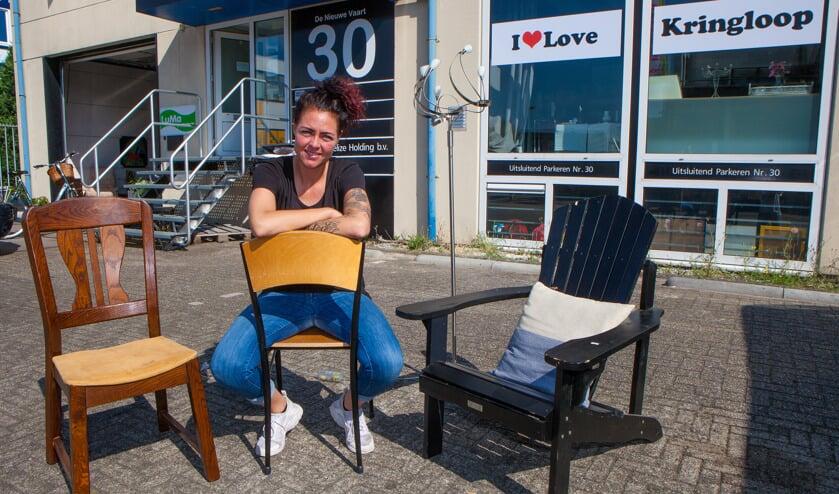 De zaak is te vinden aan de Nieuwe Vaart 30 in Bussum.