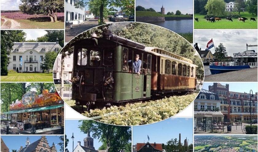 Promotiebeeld van de stichting onder het motto 'Greetings from Gardens of Amsterdam'.