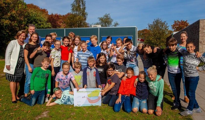 De winnende scholieren krijgeneen schoolreis naar Nemo ScienceMuseum in Amsterdam.