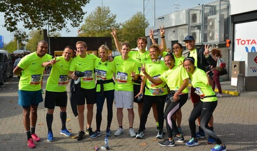 Klaar voor de marathon van New York.