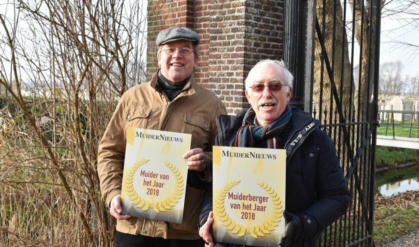 Guus Kroon en Harry Moch zijn de eerste winnaars van de oorkonde.