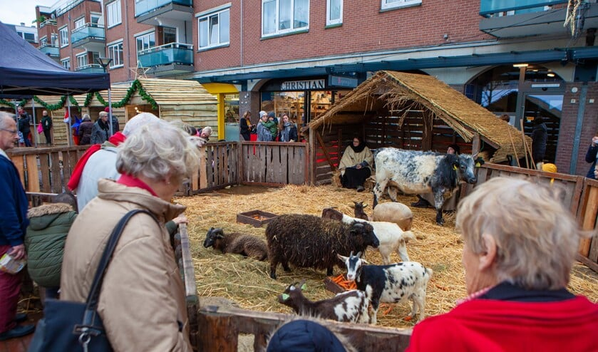 Er komt ook weer een kerststal in de Oostermeent.