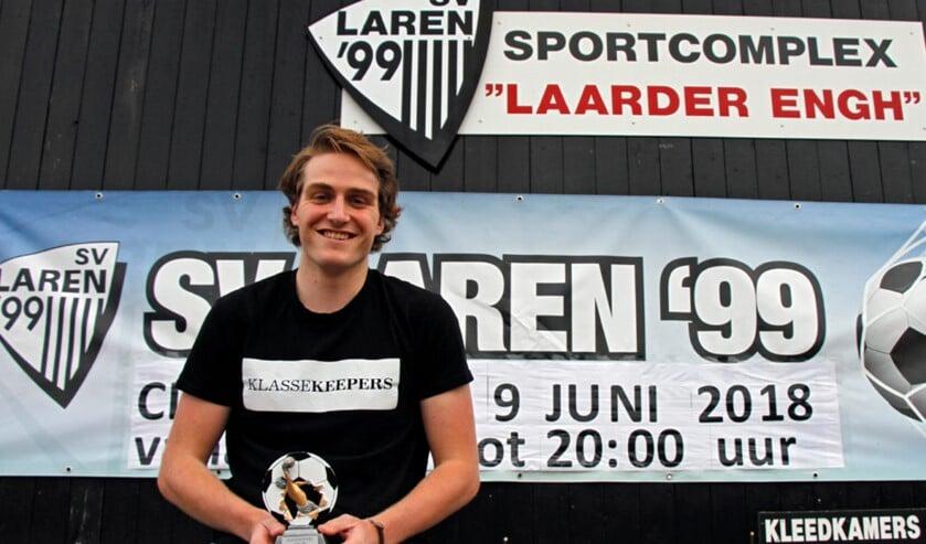 Minst gepasseerde keeper Ingmar van Rosmalen is één van de genomineerden.