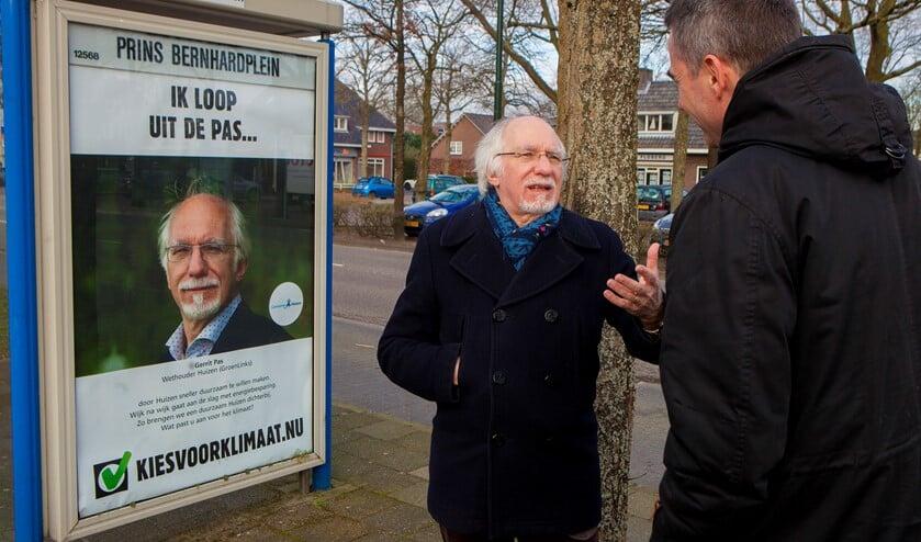 Wethouder Gerrit Pas had uitgebreid de tijd om de verslaggever te woord te staan.