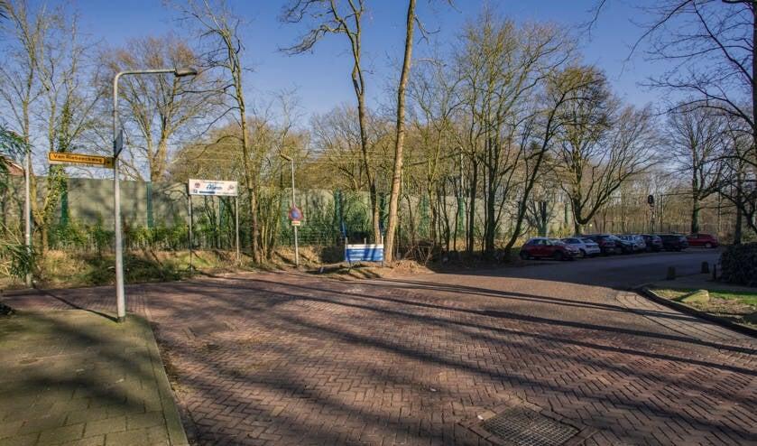 Het spoor bij de Van Linschotenlaan.