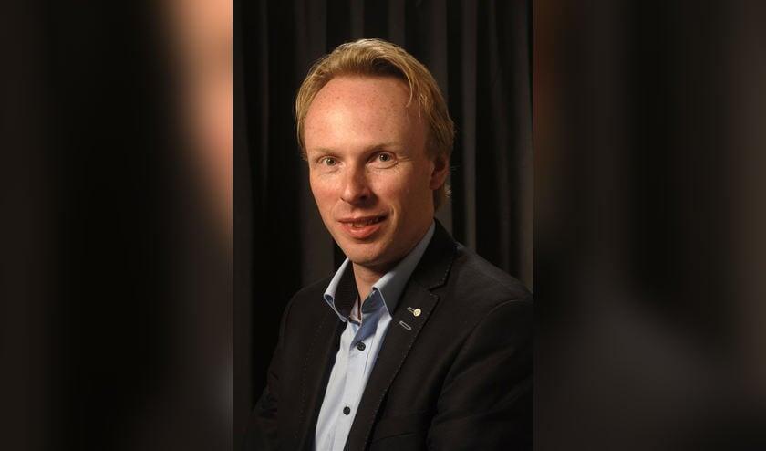 Jelmer Kruyt, fractievoorzitter Goois Democratisch Platform.