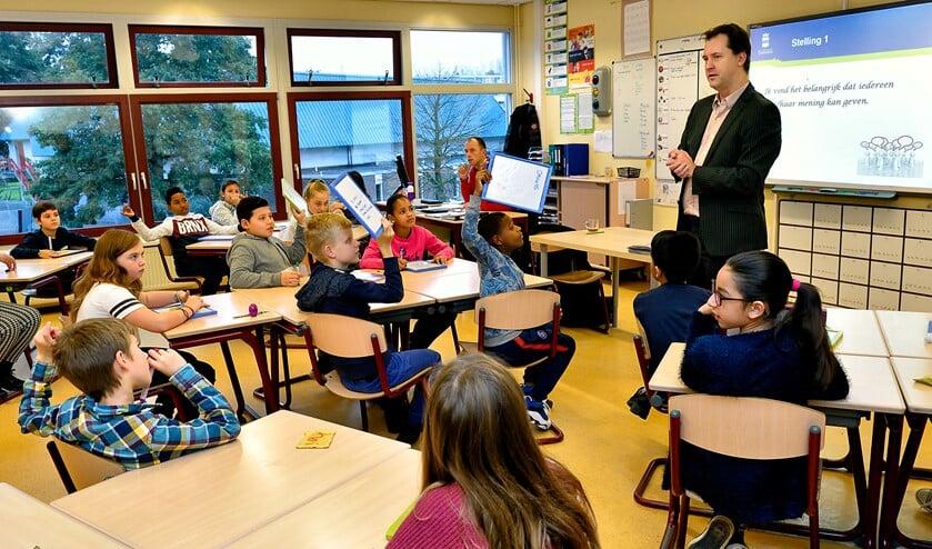 Jeroen Klaasse: 'D66 heeft zich enorm ingezet voor de komst van een middelbare school.'