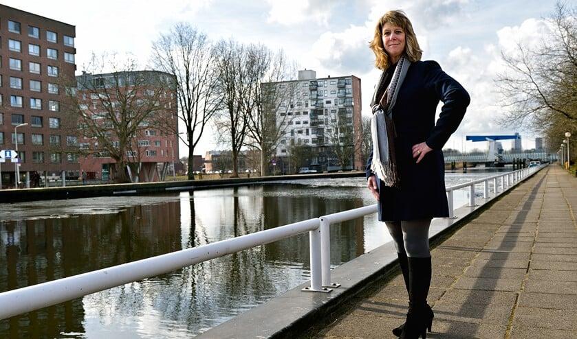 Brigitte Wielage: 'Wij zijn de partij van de veiligheid en vragen om meer wijkagenten.'