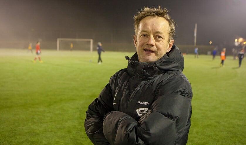 SV Laren'99-trainer Fred Roest.