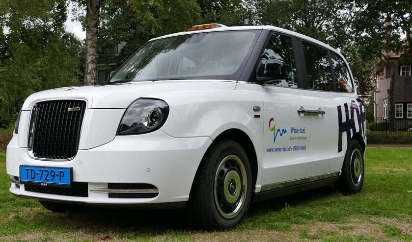 De elektrische Wmo-taxi.