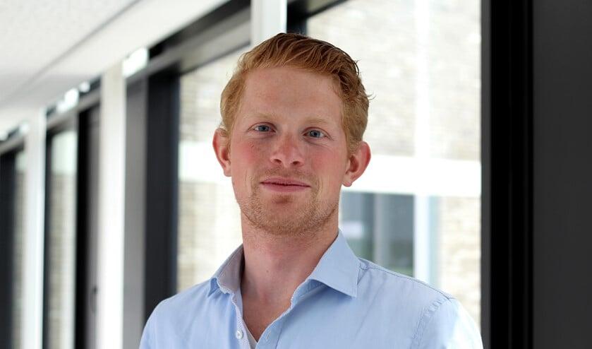 D66-raadslid Rick Poelwijk.