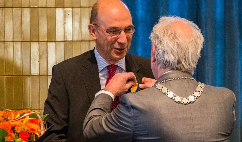 Pieter Hoogenraad werd in 2017 al benoemd tot Lid in de Orde van Oranje-Nassau.