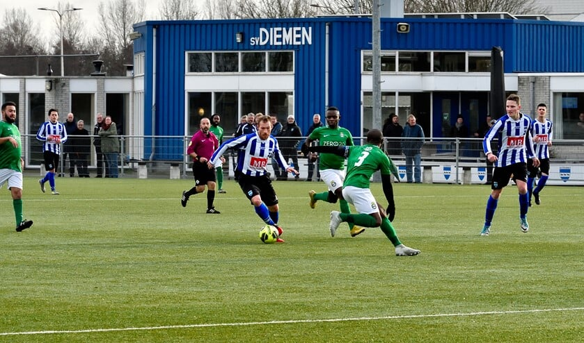 SV Diemen won vorige week met 6-1 van Real Sranang.