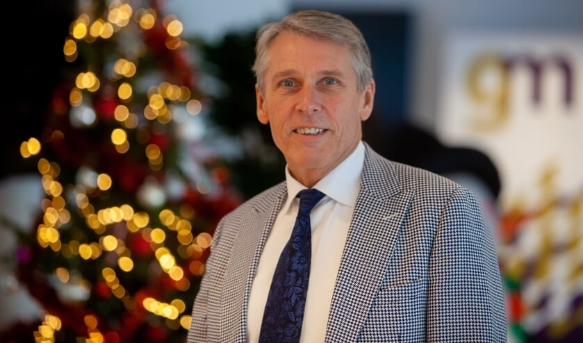 De kersverse wethouder Nico Schimmel.