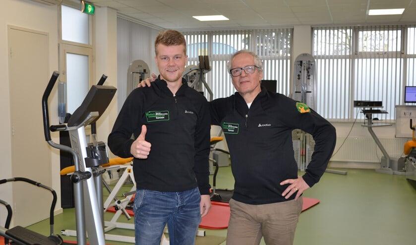 Robin Koelewijn (l) en Marc van der Sluijs.