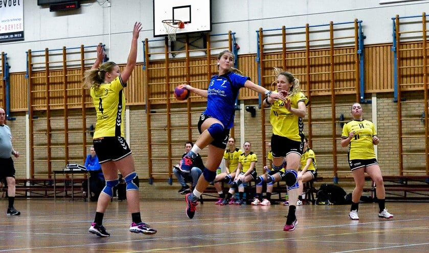 SV Zeeburg won vorige week van VVW: 31-17.