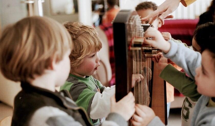 Kennismaken met de harp op het Hummelpark Festival