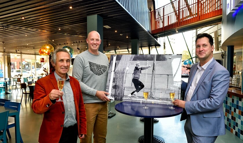 Michiel Hatenboer (Theater de Omval), Sander Stok en Jeroen Klaasse.