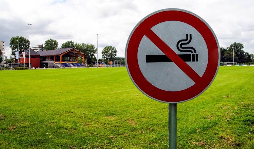 Sportverenigingen hadden al eerder een totaal rookverbod.