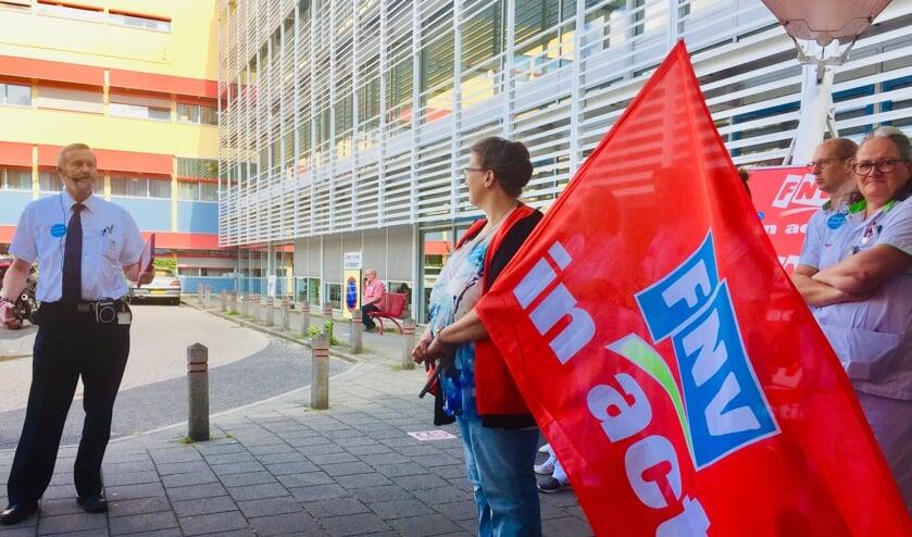 In september legden medewerkers van Tergooi het werk even neer.