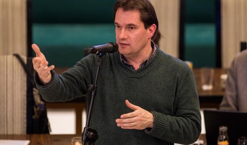 SP-raadslid Pierre van Rooden.