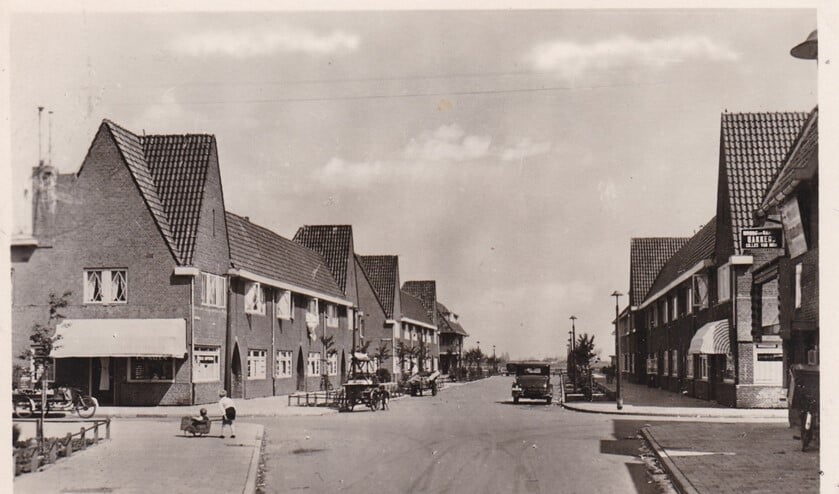 Jan Bertsstraat voor de afbraak in 1944