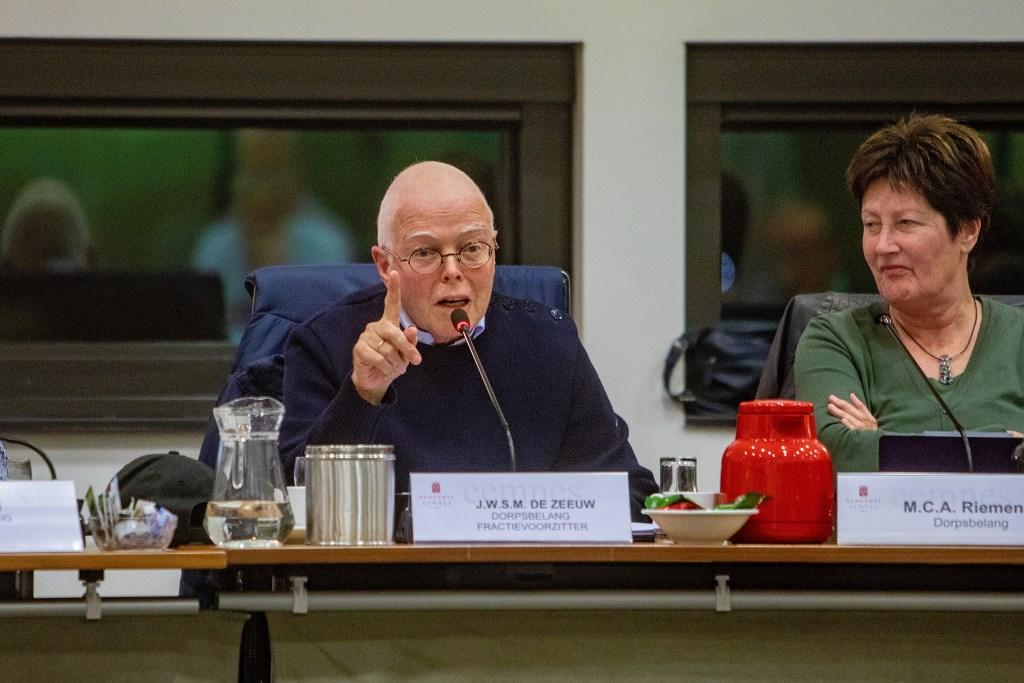 DorpsBelang-voorzitter Jan de Zeeuw. Foto: Bob Awick © Enter Media