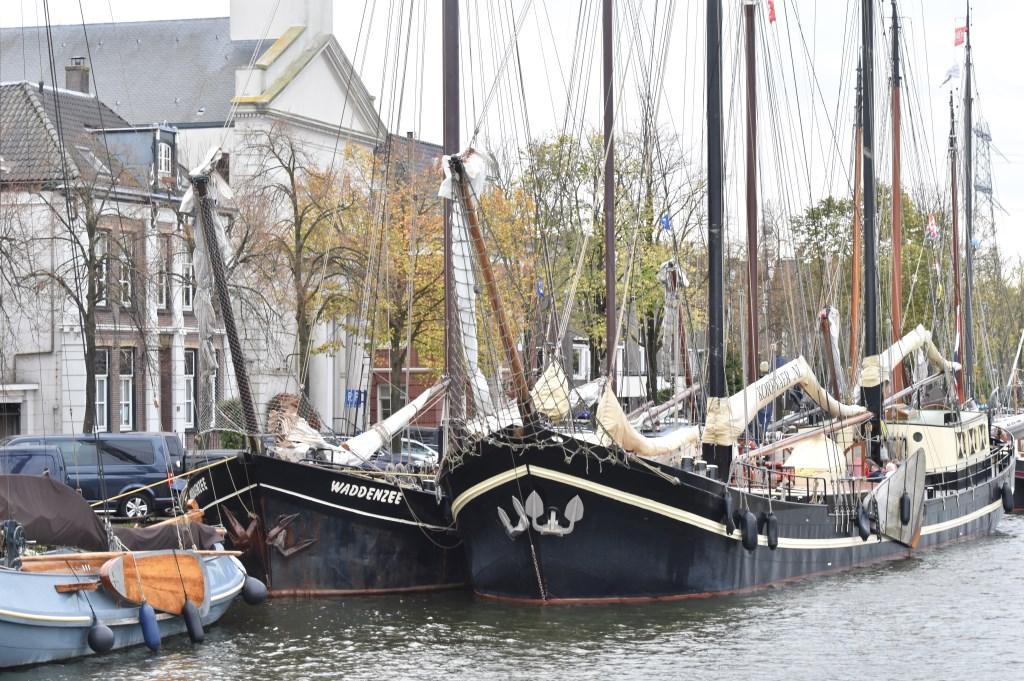 De boten kunnen morgen wel uitvaren. Foto: Yvette de Vries © Enter Media