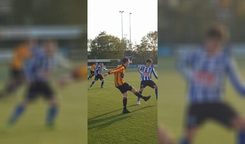 SV Diemen verloor vorige week zondag van Sporting Martinus.