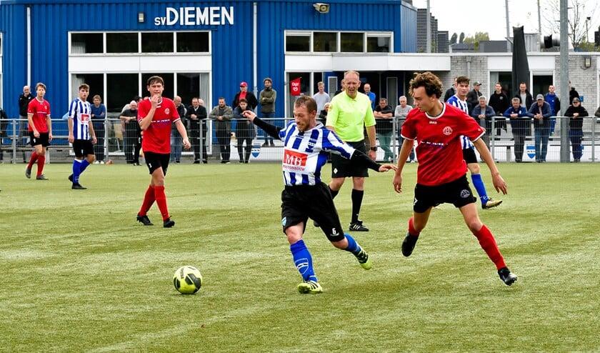 SV Diemen won vorige week van SV 's-Graveland.
