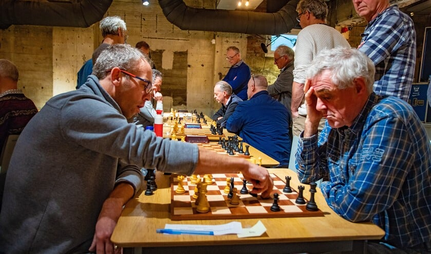 Voor het eerst vond het Goois Schaakkampioenschap plaats in de kelder van De Krachtcentrale.