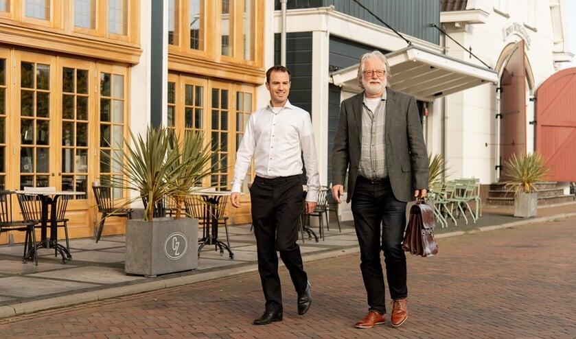 Arjan van der Klogt en Rob Bollebakker van AAK en Van der Klogt.