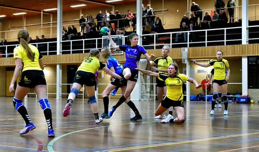 SV Zeeburg rekende af met Meervogels: 30-25.