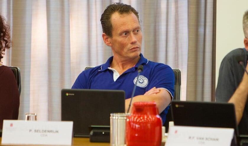 Pieter Seldenrijk, fractievoorzitter CDA.