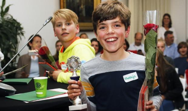 November: Matthijs wint het duurzaamheidsdebat. Foto: Gemeente Laren © Enter Media